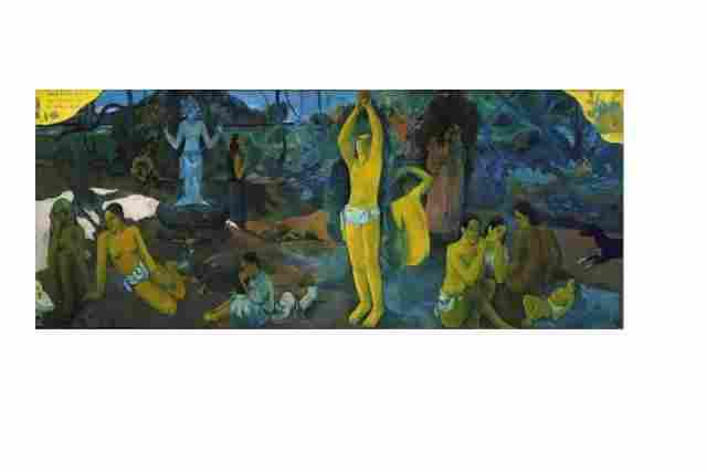 Where we come from? About us? Where we go? by Paul Gauguin