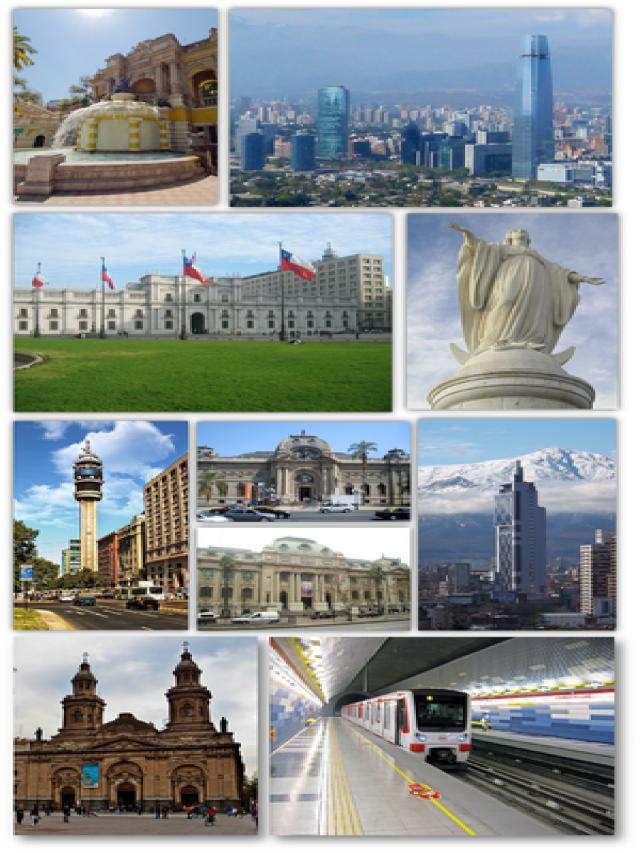 15. Santiago du Chili, Chili, Amérique latine