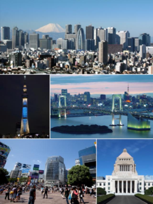 2. Tokyo, Japan, Asia