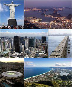 9. Rio De Janeiro, Brésil, Amérique latine