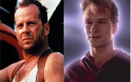 Bruce Willis weigerte sich, der Protagonist des Geistes zu sein