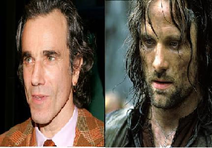 Daniel Day Lewis rejected the role of Aragorn in The Lord of the Rings