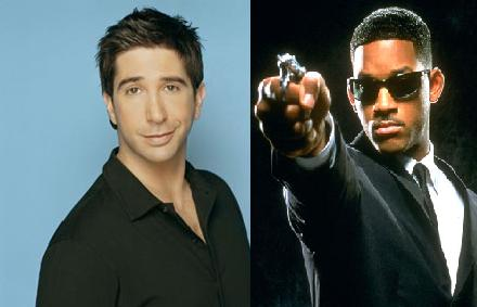 David Schwimmer agent J Men in black '