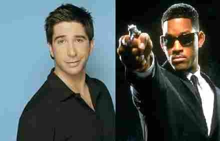 David Schwimmer agente J Men in black'