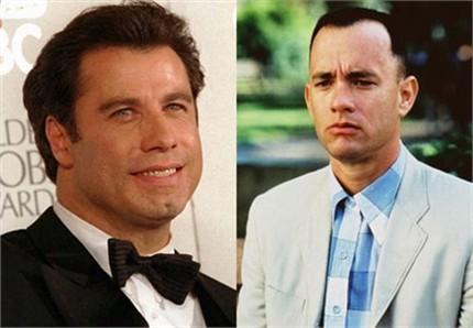 John Travolta recusou-se a ser Forrest Gump