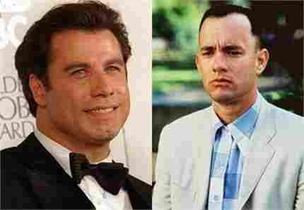 John Travolta refused to be Forrest Gump