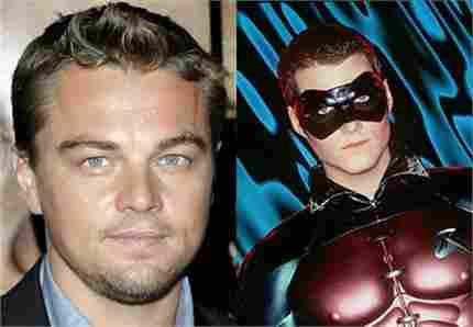 Leonardo DiCaprio dijo no a Robin