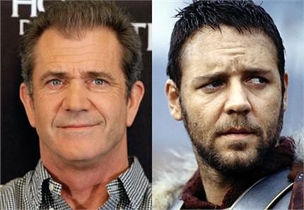 ¿Mel Gibson com Gladiator?