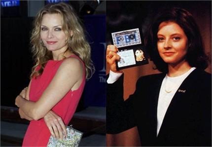 Michelle Pfeiffer não se deixou seduzir por Clarice Starling