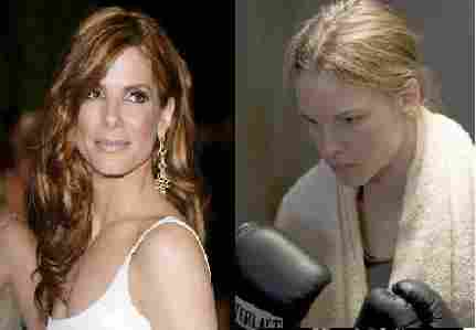 Sandra Bullock refused to be The boxer in the movie Million Dollar Baby
