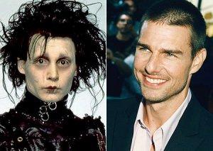 Tom Cruise se recusou a ser Eduardo Mãos de Tesoura
