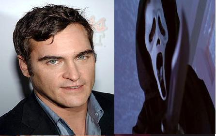 Trabalho de rejeição de Joaquin Phoenix no grito