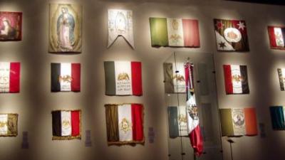 As bandeiras do México através de sua história