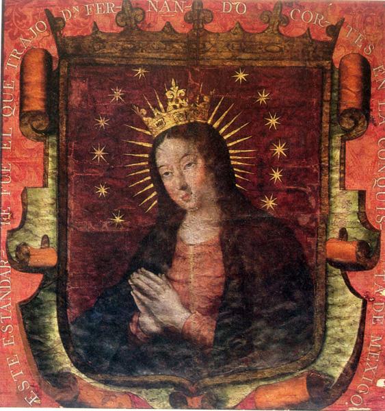 Bannière de Cortés (1519 - 1521)