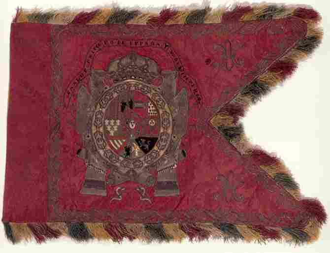 Carlos 1ero flag of Spain and V. of the Empire
