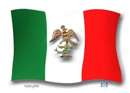 Drapeau Empire d'Iturbide