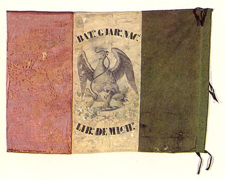 Flag of the Michoacán National Guard Battalion