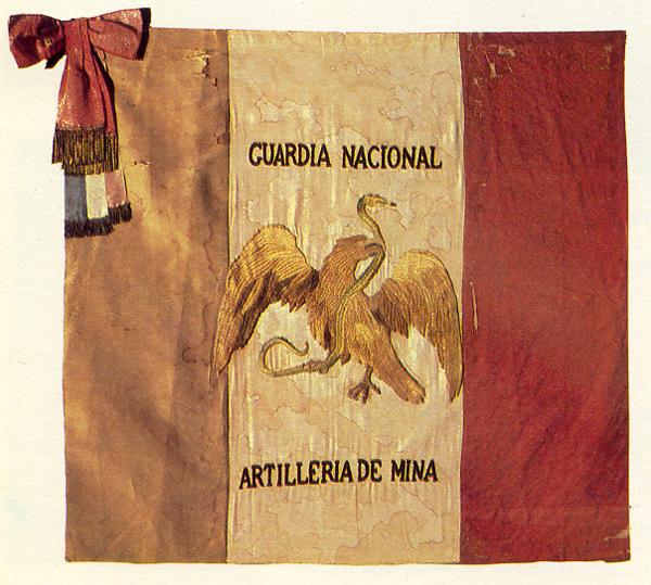Flag of the Mina National Guard Battalion
