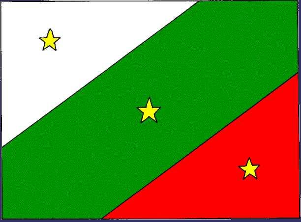 Flag of the Three Guarantees (1823-1845)