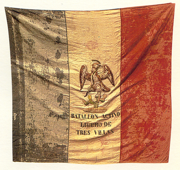 Flag of the Three Villas Regiment (1823)
