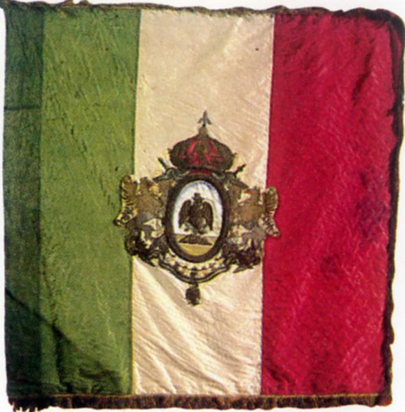 Maximilian Empire flag