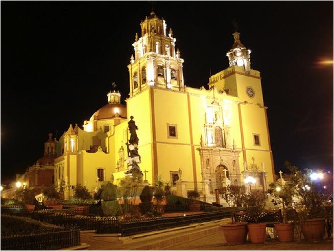 Кафедральный собор Гуанахуато