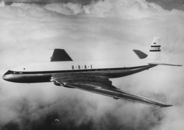 Accidente de avión por culpa de las ventanas cuadradas