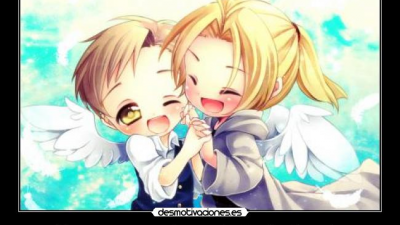 Beste Freunde aus Kindertagen in Anime