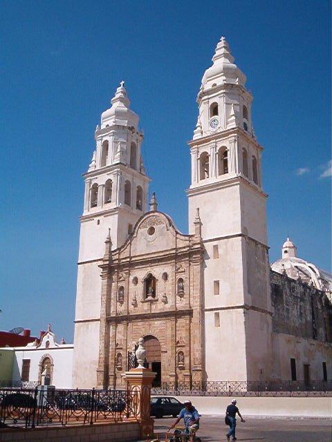 Catdral de Campeche