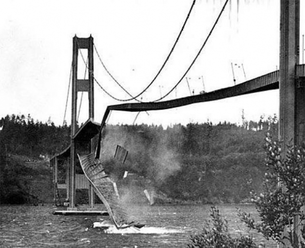 Collapse of the Tacoma Narrows Bridge