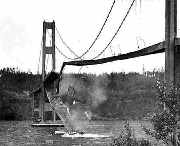 Derrumbamiento del puente de Tacoma Narrows