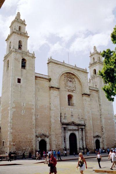Yucatan Cathedral