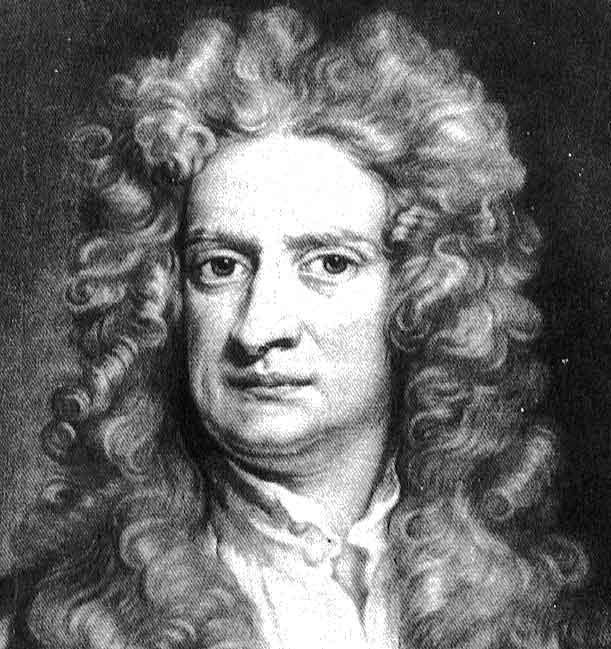 Isaac Newton - Inglaterra