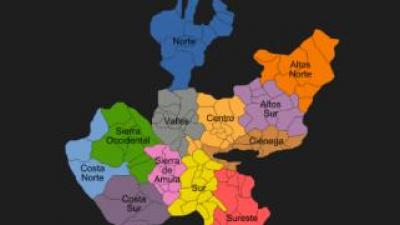 Municipalities of the Altos de Jalisco