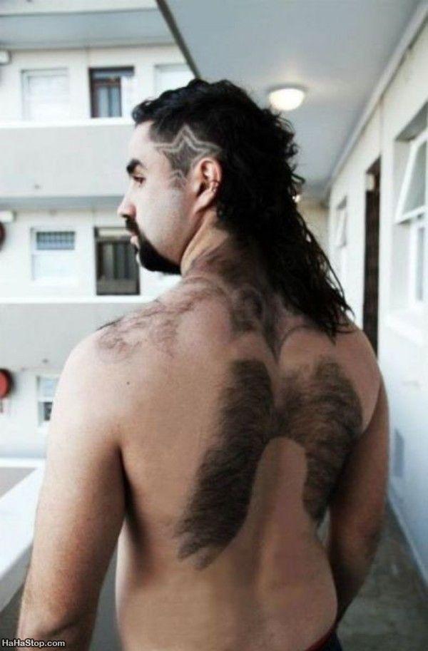 Hair wings