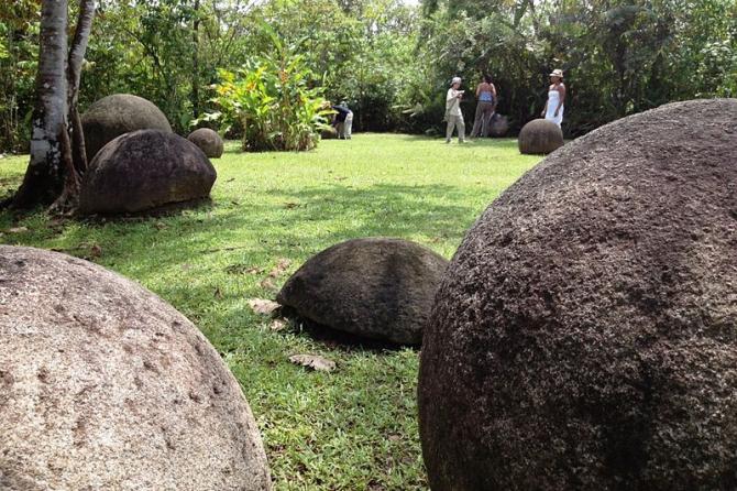 Stenen bollen van Costa Rica