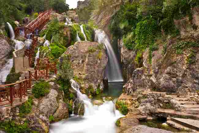 Algar Fountains (Alicante)