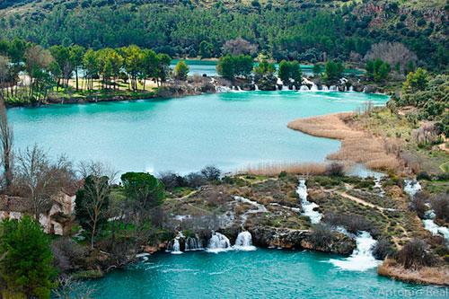 Ruidera laguner