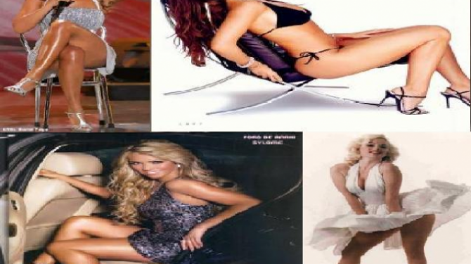 The celebrities with the most sensual legs