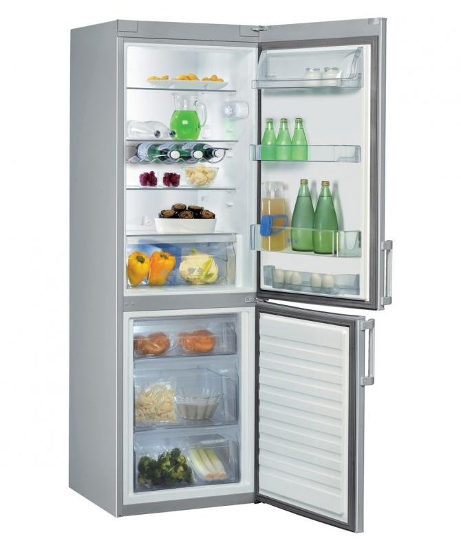 A geladeira e o freezer