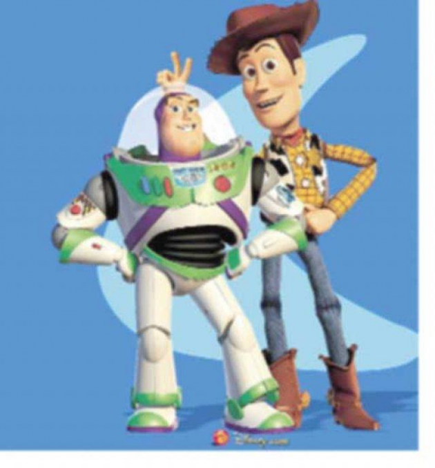 Buzz Lightyear y Woody