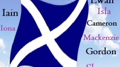 Die bekanntesten schottischen Namen