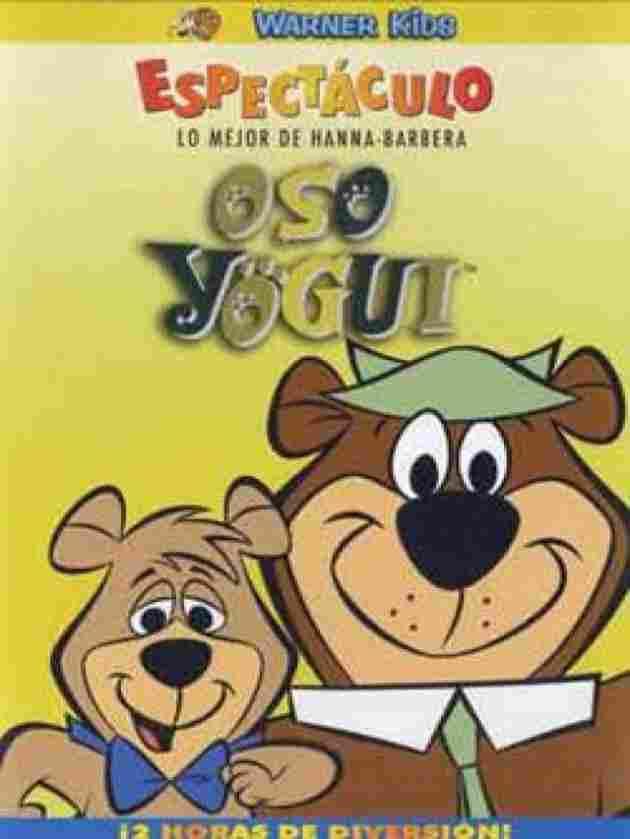 El oso Yogui y Bubú