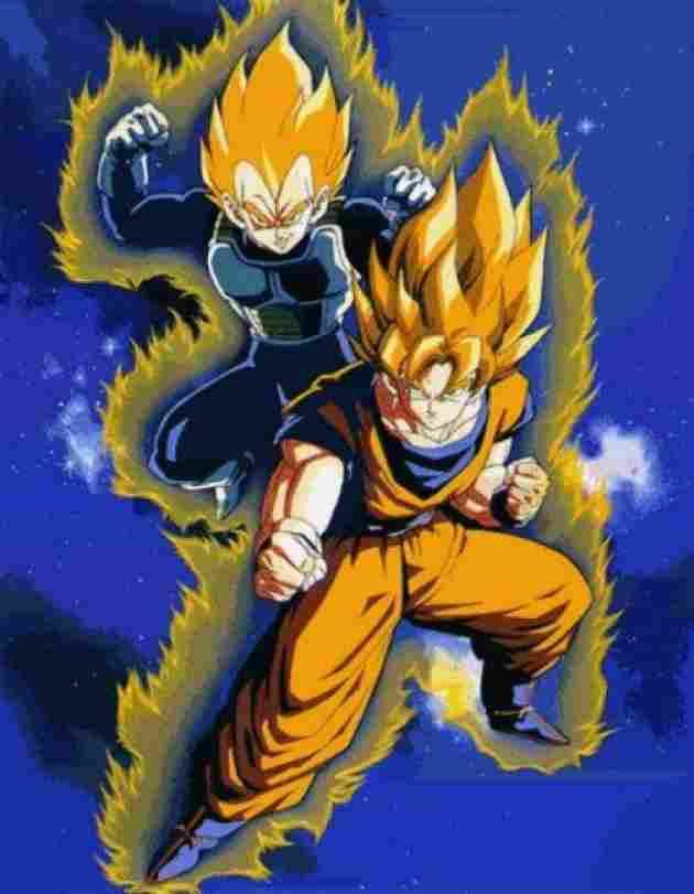Goku y Vegeta