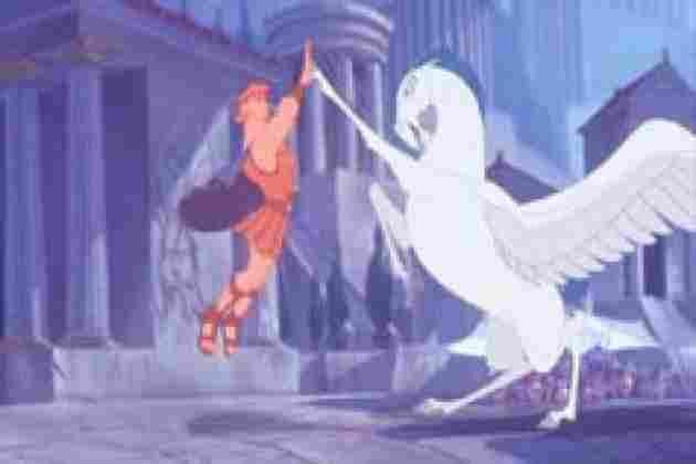 Hercules y Pegaso