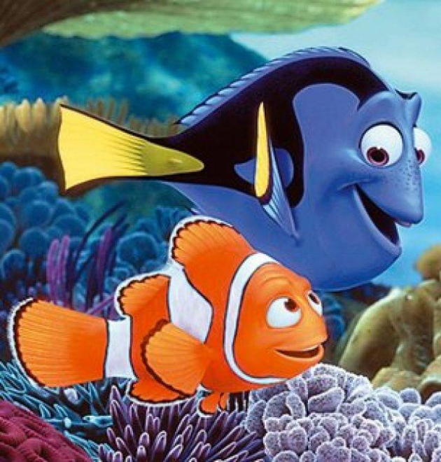 Marlin y Dory