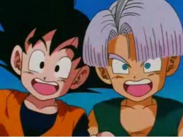 Trunks y Goten