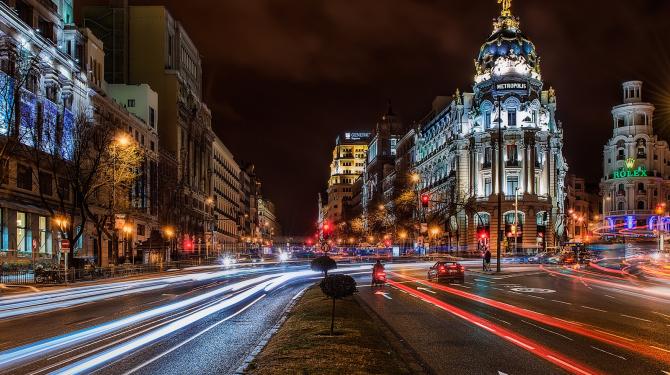 20 de orașe spaniole care merită o vizită de noapte