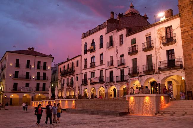 Cáceres: un oraș cu multă istorie