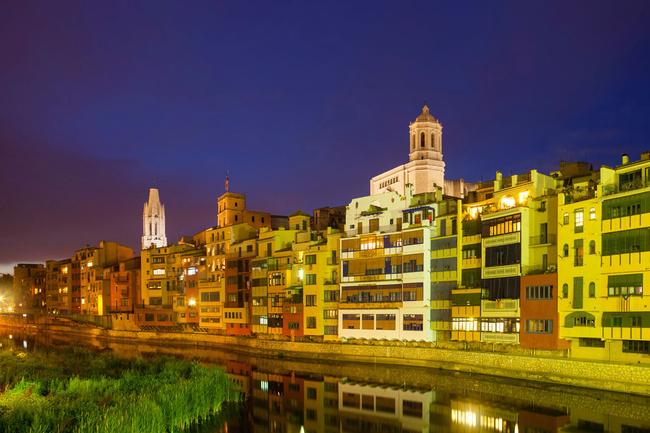 Girona: färgstaden